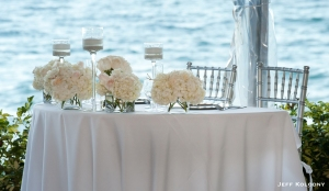 The Bride & Groom's Sweetheart Table.